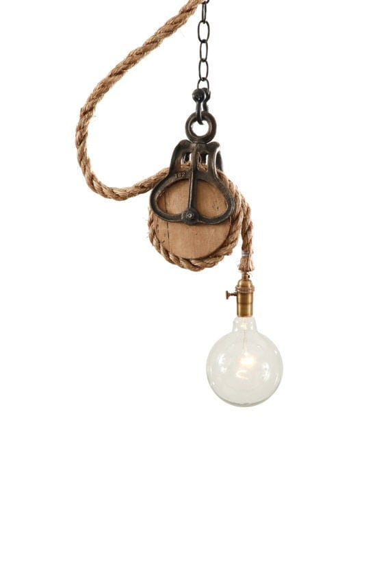 Barn Light Ceiling Light Rustic Home Swag Light
