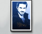 "Once Upon a Time – ""Captain Hook""  11x17 18x24 24x36 TV Show Poster Art"