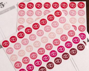 Date stickers, going out sticker, heart date planner sticker, scrapbook date night sticker, valentine love eclp filofax happy planner kikkik