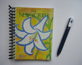New Yorker Lily Notebook