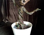 Full Scale Potted Groot sculpture from The Guardians of the Galaxy Film