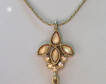 """1928 Jewelry  """"Sunrise"""" Mother of Pearl Necklace"""