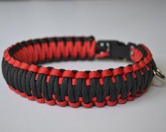 Custom Pet Collar - 550 Paracord King Cobra Weave