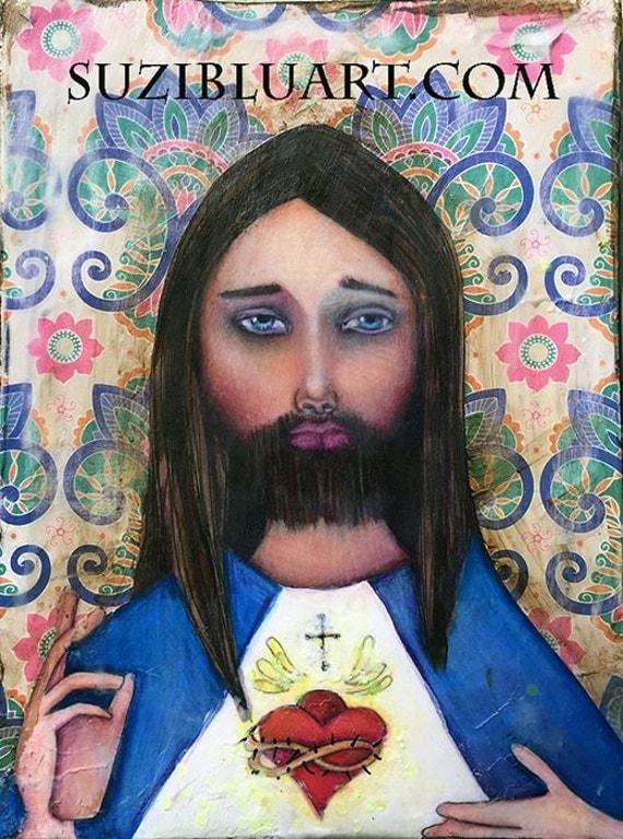 Because of Jesus - Online Art Workshop with Suzi Blu