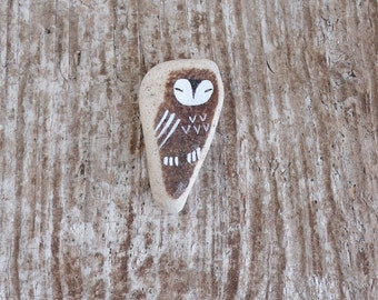 Beach Pottery Owl