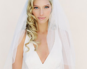 Bridal Veil, English Net Veil, Ivory Veil, Two Tier Veil, One Tier Veil, Ballet Veil, Fingertip Veil, Cathedral Veil, Soft Veil 0801 EN