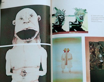 Vintage retro 1978 Communication Arts Coyne & Blanchard illustration pop culture counterculture illustrated bohemian magazines lot of 2