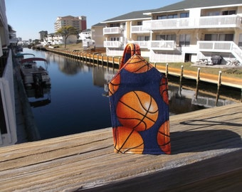 Basketballs Luggage Tag