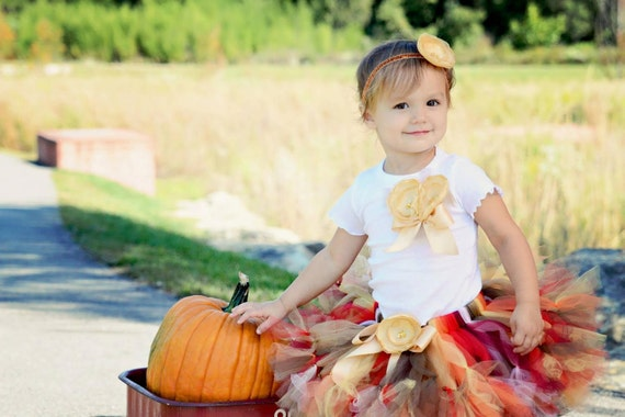 7a266079a06 Thanksgiving Tutu Dresses for Girls