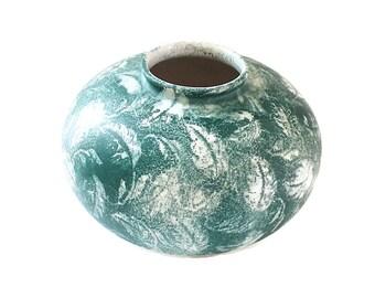 Mid Century Art Pottery Vase German Pottery Pot Bay Keramik Vase Pot