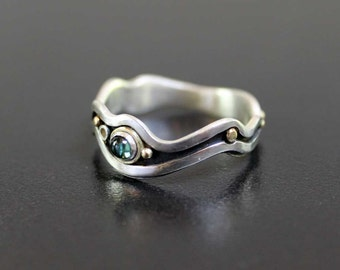 Tourmaline River Ring - Similar Made to Order