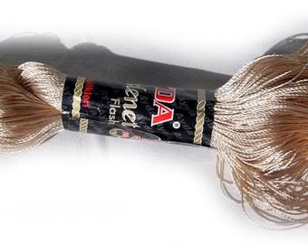 Viscose yarn, Viscose Silk Yarn, natural viscose yarn: Shining, Superfine / Lace weight, Ayda Kordent, cream color. SALE color champagne