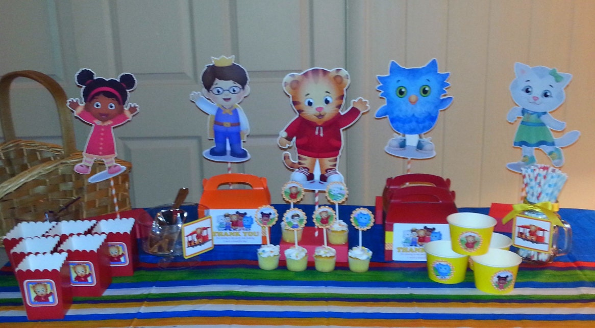 Daniel Tiger Party Decorations