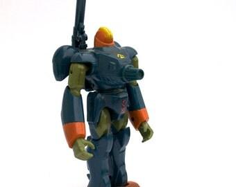 Robotech Zentraedi Mecha Figure 1994, Power Armor Quadrono Battalion, Vintage