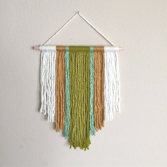 Etsy wall hanging 28 images kitchen dining macrame for Yarn wall hanging