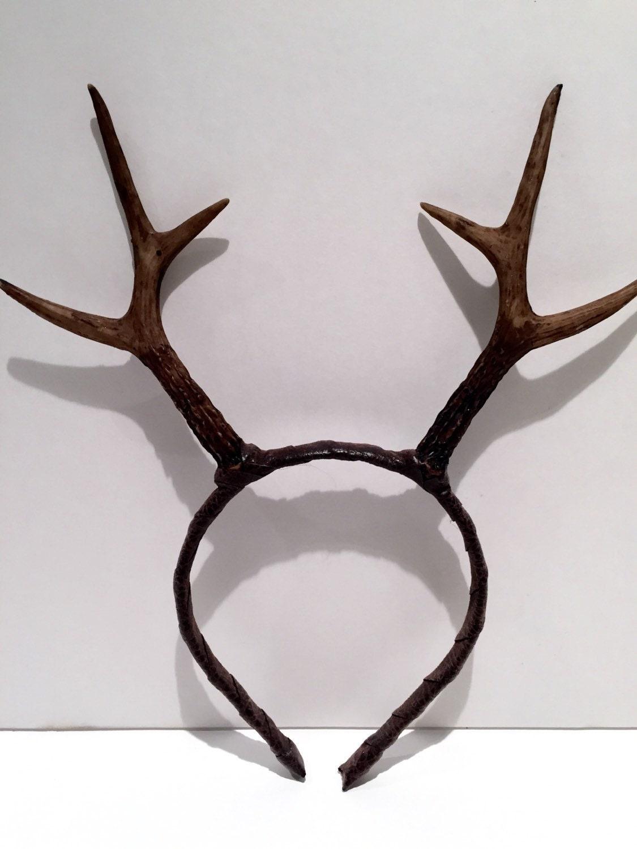 Antler Headband Deer Antler Headdress Reindeer Antlers