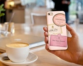Custom Champagne Label iPhone / Samsung Galaxy Case