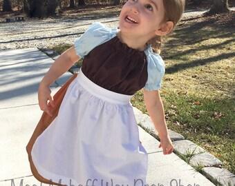 MADE-TO-ORDER -- Cinderella Peasant Dress -- Sizes 3 Months to 10 -- Cinderella Dress