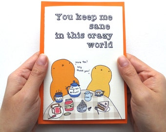 Sillies Funny Silly Sweet Anniversary Card