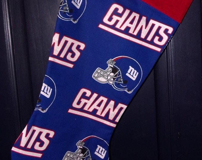 Giants Christmas Stocking