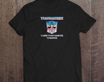 Transformer Transgender T-shirt