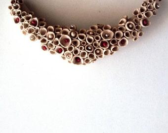 Polymer Clay Jewelry / Polymer Clay Jewelry Necklace / Leather Necklace / Women Polymer Clay Jewelry / Polymer Clay Jewelry Necklace
