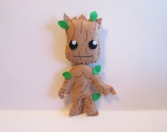 Groot Plush Inspired by Guardians of the Galaxy