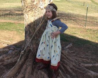 Classic flutter sleeve dress