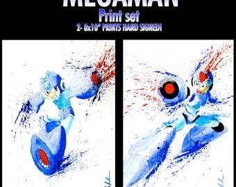 MEGAMAN Print Set!