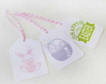 Easter Holiday Tag Set 15 Blank gift favor goodie tags