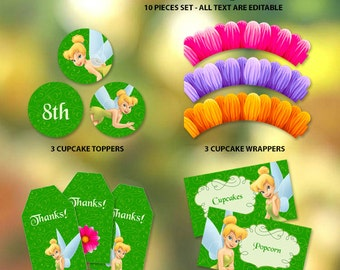 Tinkerbell Printable Party Set