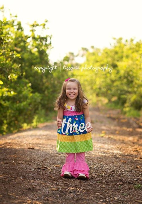 Wooden Photography Signs, Birthday Photo Props, Large Wooden Birthday Numbers, Number Prop, Kid's Number Sign, Toddler Photo Prop