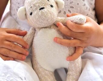Bear Toy- Woodland Bear Cub-Tati Bear-Teddy Bear-Stuffed Bear