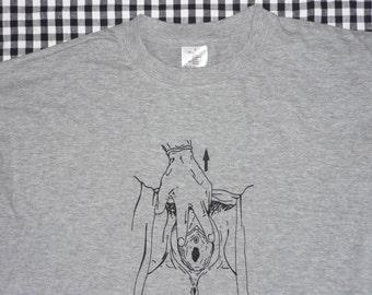 Tshirt // Vagina // Size L