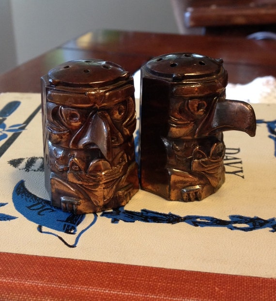 Little Totem Pole Salt And Pepper Shakers By Studioathoodcanal
