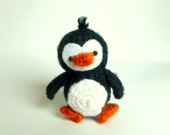 Crochet Penguin Plush | Crochet Animal | Amigurumi Penguin Crochet | Plush Penguin Stuffed Animal | Cute Penguin Gift for Kids Gift