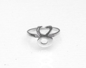 Taurus Ring - Zodiac Ring - Knuckle Ring - Astrology Rings - Venus Ring - Zodiac Jewelry - Horoscope Rings - Midi Ring - Personalised Rings