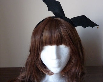 Bat Wing Bow Headband