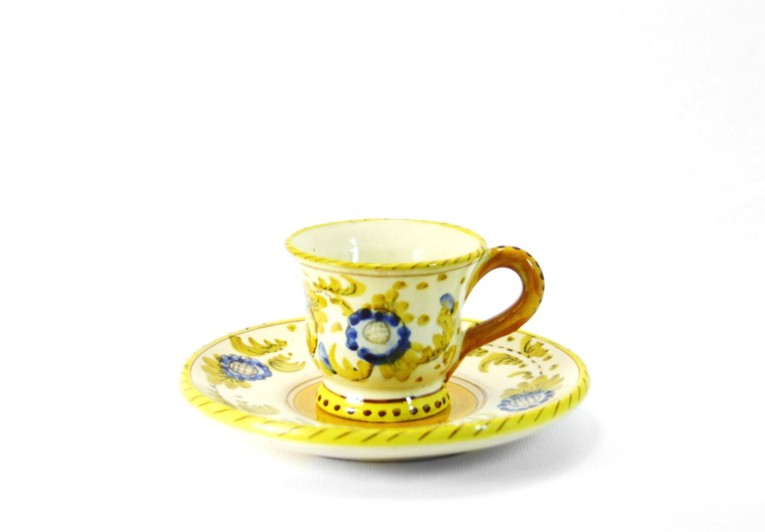 Antique Italian Espresso Cup & Saucer Classic by ...