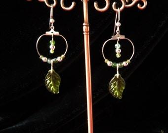 Springtime Festival Beaded Earrings
