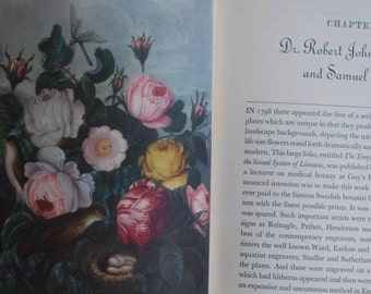 vintage book: Flower and Fruit Prints of the 18th and early 19th Centuries, by Gordon Dunthorne - Limited Edition Folio - published in 1938