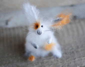 Rabbit bookmark gift bookmark easter day gifts easter gifts white rabbit easter day gift easter gifts for her easter day decor easter rabbit gift stuffed negle Choice Image