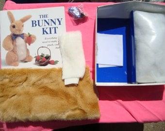 The Bunny Kit - Everything you need to make a plush stuffed animal