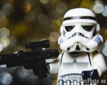Christmas Star Wars™ LEGO® Stormtrooper Photograph 'Christmas' Instant Digital Download