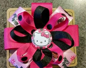 Hello Kitty Hair Bow or Headband