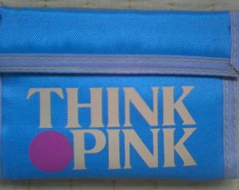 THINK PINK original 80 's PORTFOLIO to tear