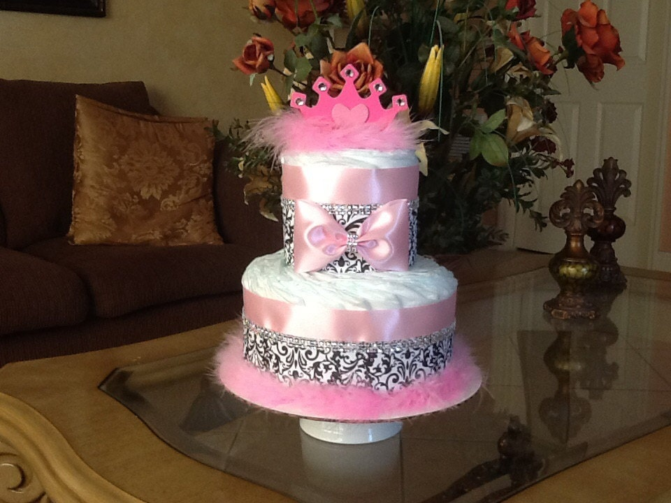 princess diaper cake princess baby shower centerpiece baby
