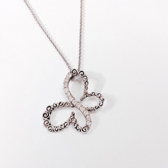 New Fashion Arrivals Wedding Jewelry Awesome Design: BUTTERFLY Pendant Necklace Unique ROSE Design By GabzJewellery