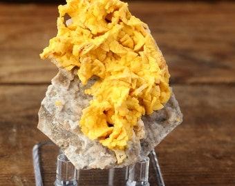 Cadmium-rich Smithsonite Psuedomorphs After Dolomite Mineral Specimen