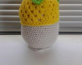 Crochet Lemon Hat